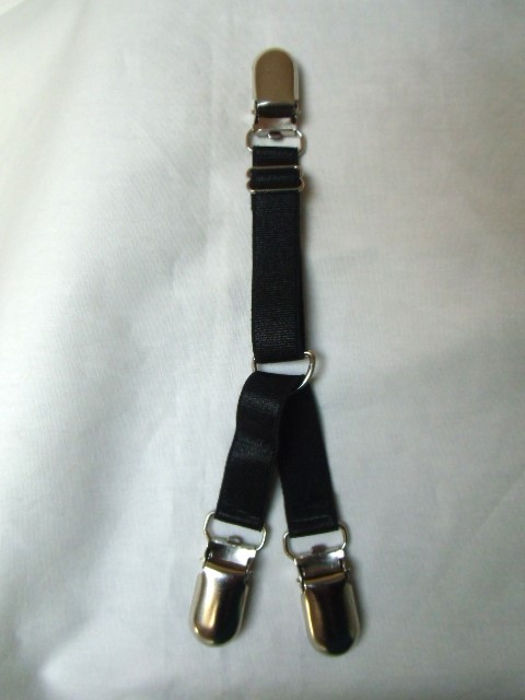 Jarretelle noire trois clips m tal d tachables - Photos de secretaire en porte jarretelle ...