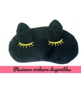 """Masque de sommeil tête de chat en peluche """"Comfy kitty mask"""""""