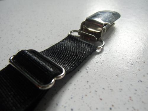Jarretelle clips y d tachable noire m tal - Porte jarretelle darjeeling ...