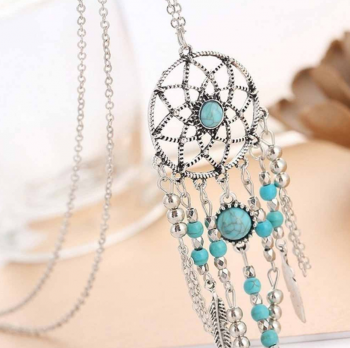 Collier-sautoir-dreamcatcher-attrape-reves-turquoises