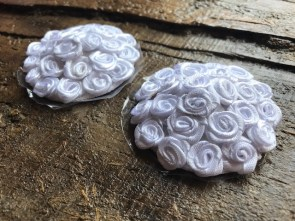 Cache-tétons nippies ronds roses blanches