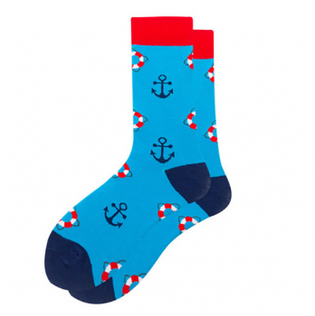 chaussettes-bleues-ancres-marines
