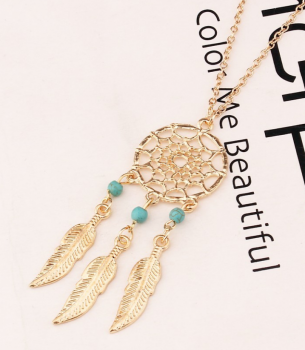 collier-dreamcatcher-attrape-reves-dore-turquoises-2