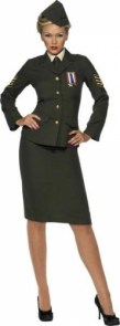 "Costume d'officier de guerre ""Pinup' officer"""