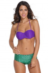 Maillot de bain Ariel la petite sirène mermaid pin-up