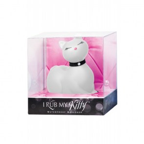 Sex toy petit chat blanc vibrant sexy rigolo