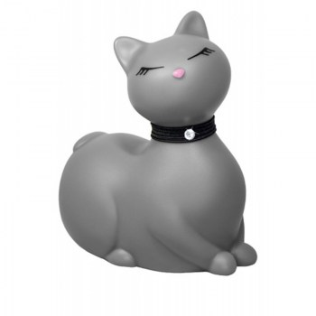 Sex toy petit chat gris vibrant sexy rigolo