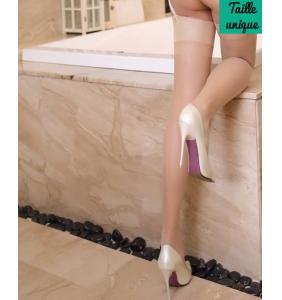 """Bas couture chair pour porte-jarretelles """"Sexy pinup legs"""""""