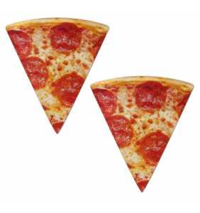 """Cache-tétons tranches de pizza """"Pizza slices"""""""