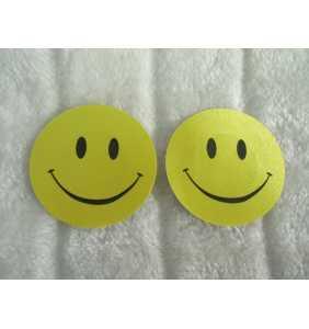 "Cache-tétons smileys jaunes ""Yellow smileys boobs"""