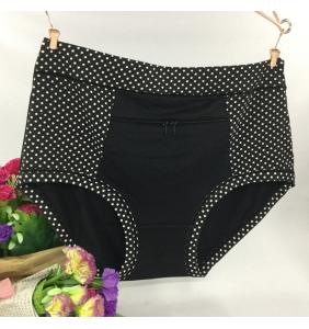 """Culotte noire à pois """"Pocket panty"""""""