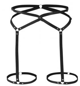 """Harnais tour de cuisses élastique noir """"Sexy harness"""""""