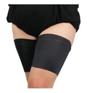 """Paire de jarretières noires autofixante anti frottement des cuisses """"Simply thighs"""""""