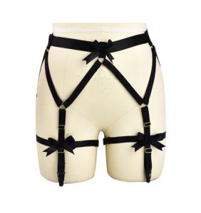 """Porte-jarretelles harnais noir """"Sexy harness"""""""