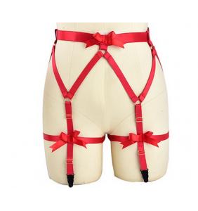 """Porte-jarretelles harnais rouge """"Sexy harness"""""""