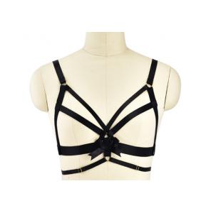 """Soutien-gorge harnais noir """"Sexy harness"""""""